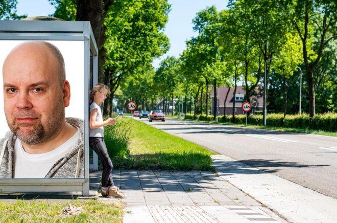 Jonny Berg, Swedish Zombie. Foto: Nils Agdler. Bakgrundsfoto: iStock. Montage: Boktugg.