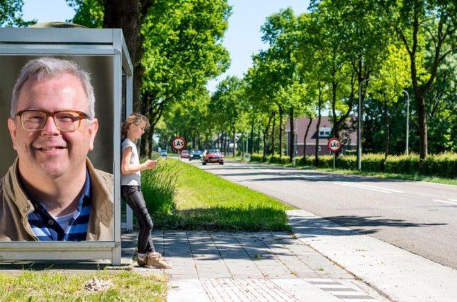 Lennarth Hambre, förlagschef på Libris bokförlag. Foto: Pressbild. Bakgrundsfoto: iStock. Montage: Boktugg.