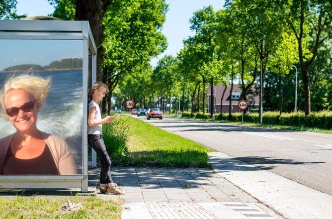 Mari Koli, VD och förläggare på Schildts & Söderströms. Foto: Privat. Bakgrundsfoto: iStock. Montage: Boktugg.