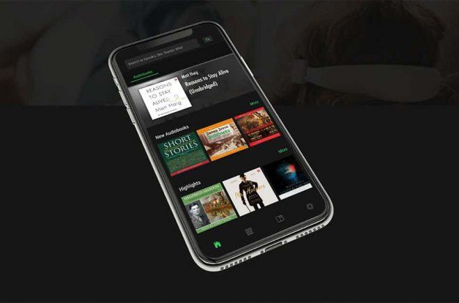 Appen Spooks låter dig lyssna på ljudböcker via Spotify med ett mer behagligt gränssnitt än Spotifys egen app.