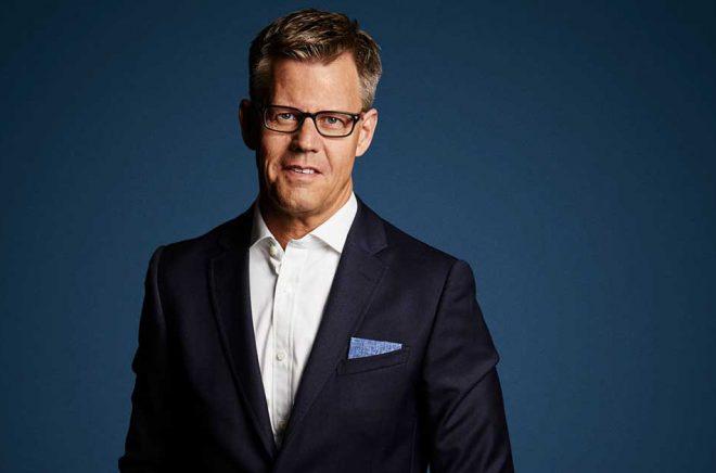 Steffen Kragh, koncernchef för Egmont. Foto: Klaus Rudbaek.