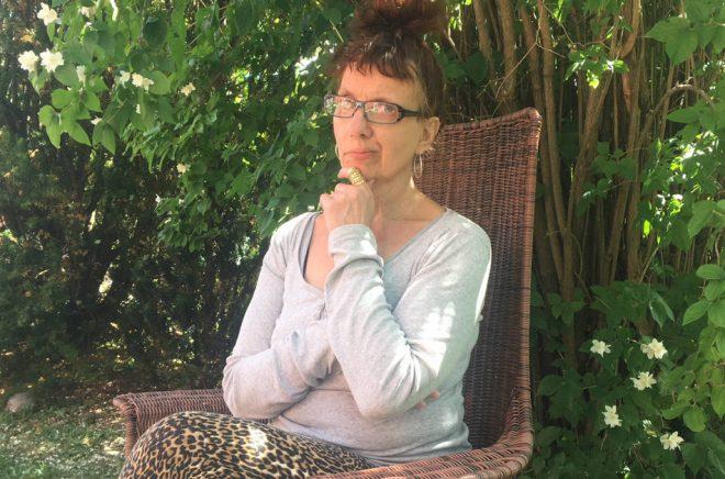 Författaren Stina Nilsson Bassell. Foto: Holger Thell.