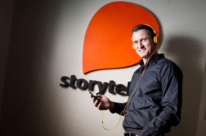 Storytels vd Jonas Tellander. Foto: Daniel Roos