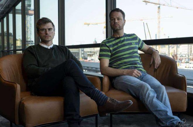 Anton Berg och Martin Johnson. Foto: Storytel