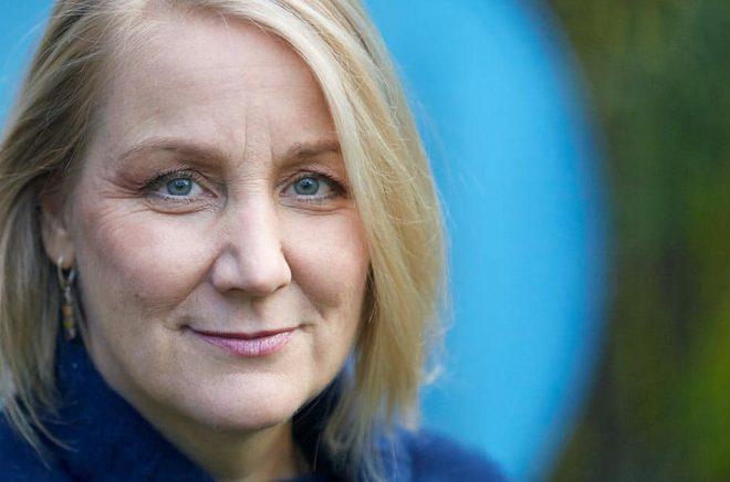 Författaren Susan Casserfelt. Foto: Bengt Alm.