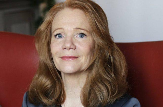 Susanne Hamilton, vd, förlagschef, förläggare på Bokförlaget Langenskiöld. Foto: Pressbild
