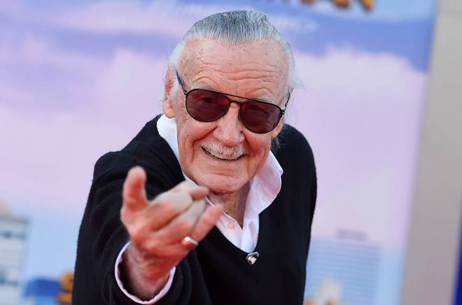 Marvel-grundaren Stan Lee. Arkivfoto: Jordan Strauss/AP/TT.