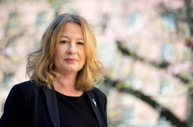 Åsa Linderborg, kulturchef på Aftonbladet är besviken över utnämningen av Amanda Lind. Arkivfoto: Pontus Lundahl/TT.