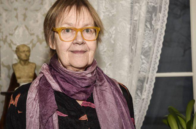 Författaren Tua Forsström blir ny ledamot i Svenska Akademien. Foto: Emmi KorhonenLehtikuva.