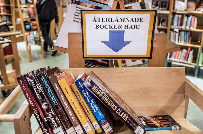 Tomas Oneborg/SvD/TT Biblioteken måste bli tillgängliga för fler, och den nationella biblioteksstrategin har förslag på hur det ska ske. Arkivbild.
