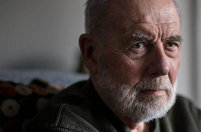 Sven Lindqvist blev 87 år. Arkivbild: Staffan Löwstedt/SvD/TT.