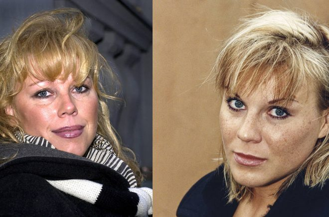 Marie Nilsson Lind (Arkivbild: Gunnar Lundmark/TT) skriver en bok om sin syster Josefin Nilsson (Arkivbild: Bertil Ericson/TT) som ska komma ut i februari 2020.