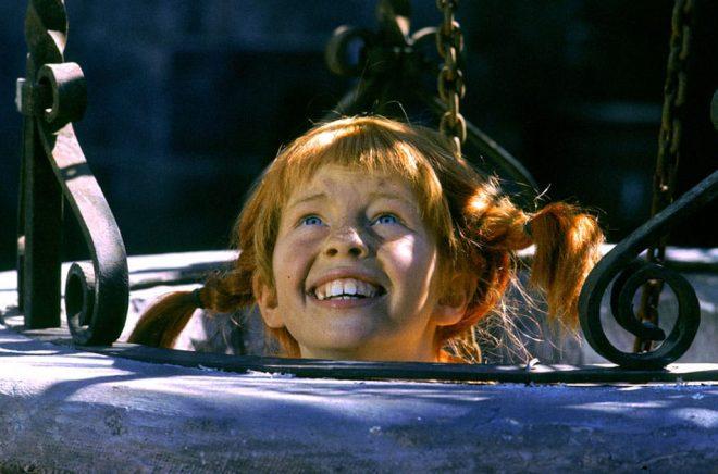 Barnskådespelaren Inger Nilsson i rollen som Pippi Långstrump. Arkivbild: Jan Collssiöö/Scanpix/TT.