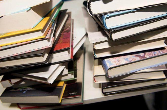Böcker om maffia, knarkbaroner och bankrånare är mest populära på Kumla och Hall. Arkivbild: Henrik Montgomery/TT.