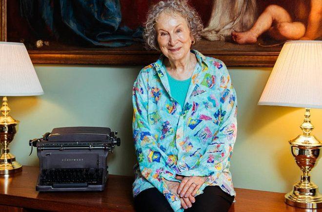 Margaret Atwood. Arkivbild: Arthur Mola/AP/TT.