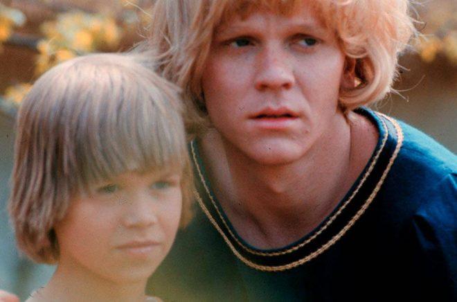 Lars Söderdahl och Staffan Götestam spelade bröderna i filmatiseringen av Astrid Lindgrens