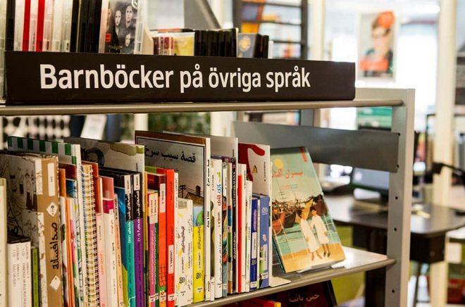 Ska det bli stopp för inköp av böcker på alla elevers modersmål på Sölvesborgs skolbibliotek? Slutgiltigt beslut tas i mitten av nästa månad. Arkivbild: Christine Olsson/TT.