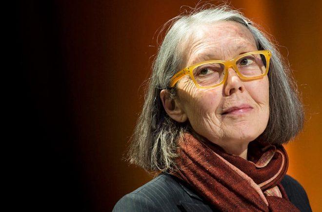 Kanadensiska poeten Anne Carson är storfavorit inför årets Nobelpris i litteratur – enligt oddsen hos ett spelbolag. Arkivbild: Pontus Lundahl/TT.
