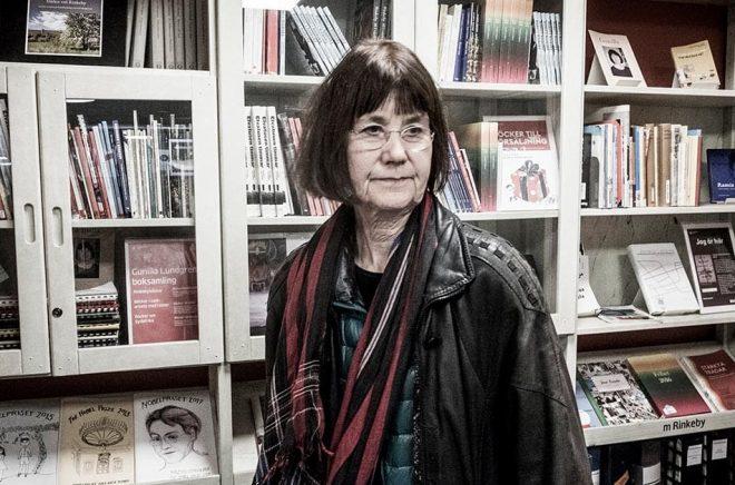 Författaren Gunilla Lundgren får årets Katarina Taikon-pris. Arkivbild: Magnus Hjalmarson Neideman/SvD/TT.