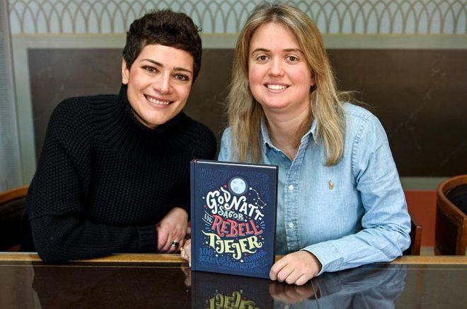 Francesca Cavallo och Elena Favilli, författarna bakom succéboken