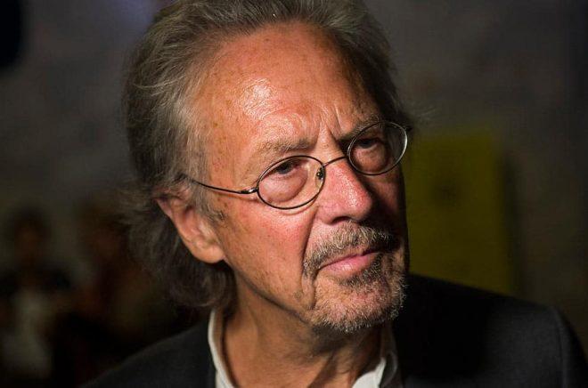 Österrikiske Peter Handke får Nobelpriset. Arkivbild: Fredrik Varfjell.
