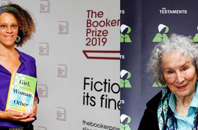 Den brittiska författaren Bernardine Evaristo med boken