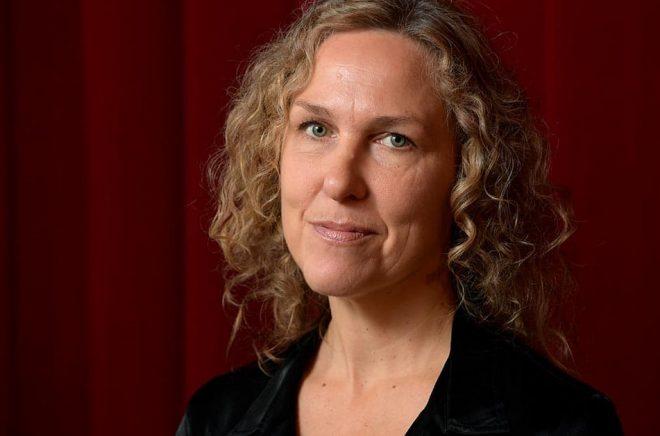 Marit Kapla får Guldpennan. Arkivbild: Anders Wiklund/TT.