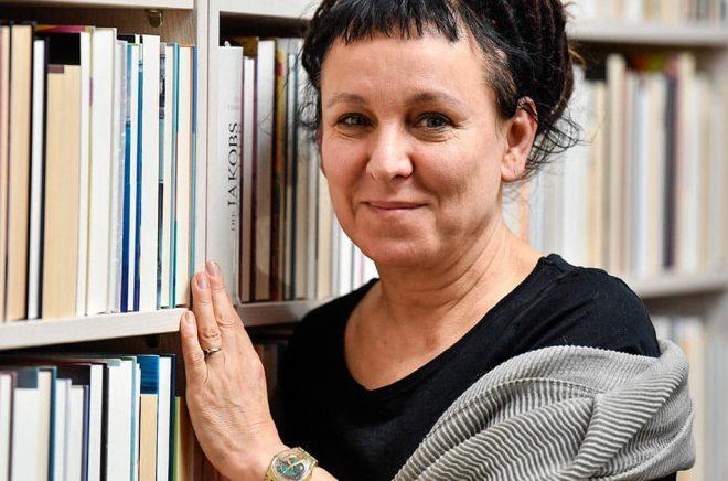 Olga Tokarczuk. Arkivbild: Martin Meissner/AP/TT.