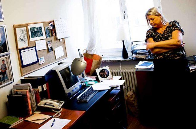 Madeleine Grive firar snart 40 år som tidskriftsredaktör. Arkivbild: Malin Hoelstad / SvD / TT.