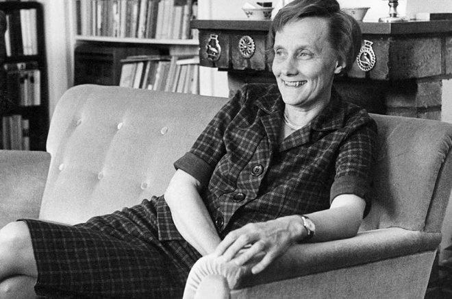 Astrid Lindgren, här fotograferad 1962. Arkivbild: John Kjellström/SvD/TT.