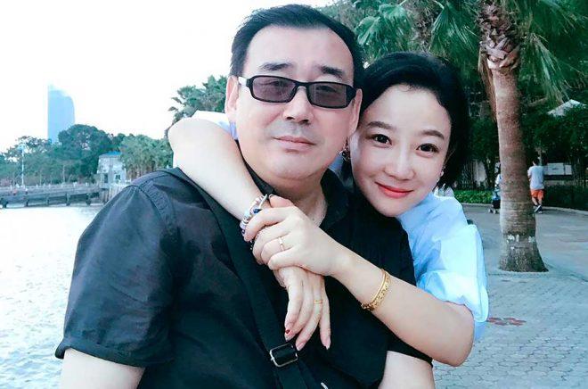 Yang Hengjun, här med sin fru Yuan Xiaoliang. Arkivbild: Chongyi Feng AP/TT.