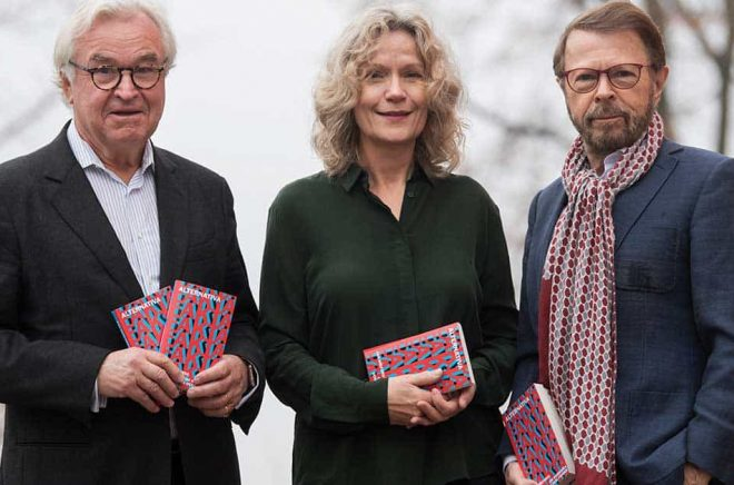 Finansmannen Sven Hagströmer, akademiledamoten Åsa Wikforss och den forne Abba-medlemmen Björn Ulvaeus tror att