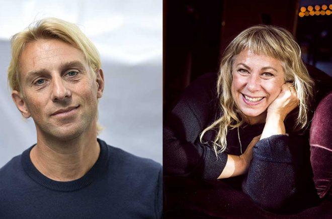 Läkaren och författaren Anders Hansen (Arkivbild: Anders Wiklund/TT) kommer att prata om hjärnan i årets Vinter i P1, även  Stina Wollter (foto: Hanna Franzén/TT) kommer att vinterprata.