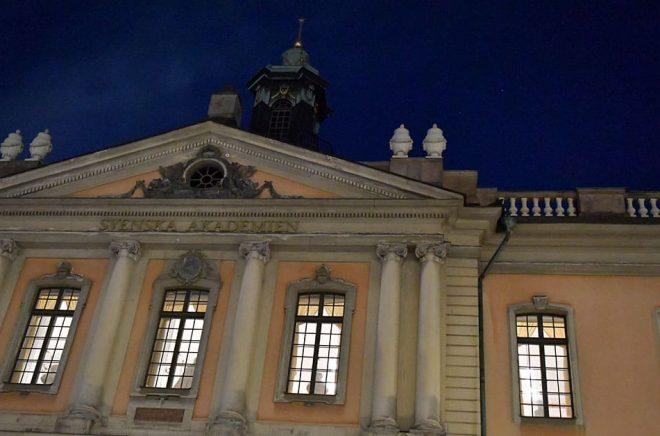 Svenska Akademien stämmer sajten Nordfront och kräver en miljon kronor i vite. Arkivbild: Jonas Ekströmer/TT.