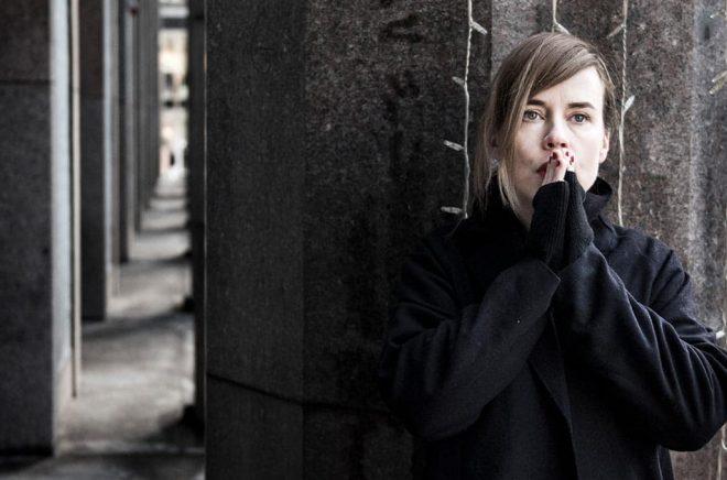 Musiken är lika viktig som skrivandet för Annika Norlin. Just nu skriver hon mest musik. I mars debuterar hon med en egen novellsamling. Arkivbild: Pontus Lundahl/TT.