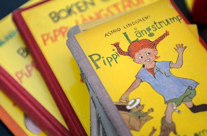 I år är det 75 år sedan den första boken om Pippi Långstrump gavs ut. Arkivbild: Anders Wiklund/TT.
