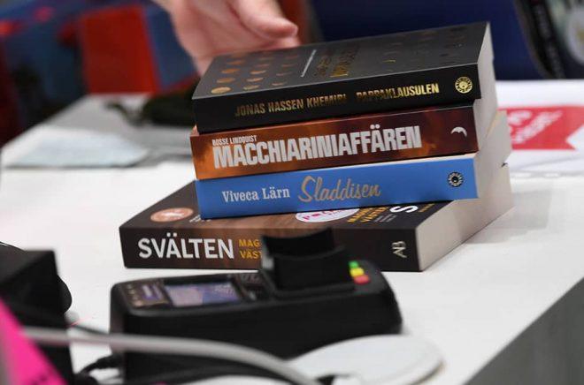 Nya priskategorier för äldre pocketböcker oroar bokhandlare. Arkivbild: Fredrik Sandberg/TT.