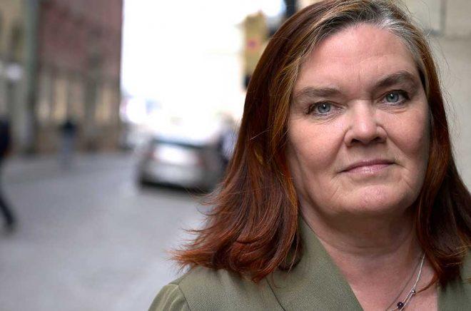 Författaren Maja Hagerman får pris. Arkivbild: Janerik Henriksson/TT.