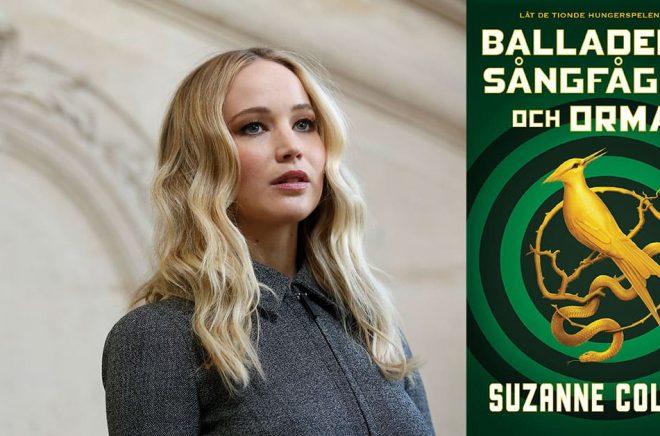 Jennifer Lawrence spelade Katniss i filmatiseringen av