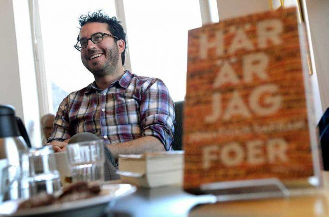 Amerikanske författaren Jonathan Safran Foer skippar Sverige på grund av coronaoro. Arkivbild: Janerik Henriksson / TT.