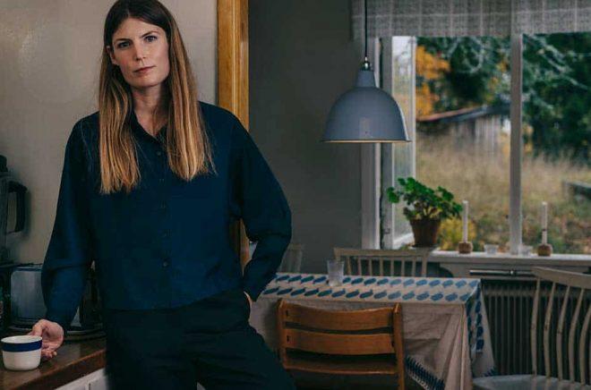 Helena Granström tilldelas 2020 års Harry Martinson-pris. Pressbild: Viktor Gårdsäter.
