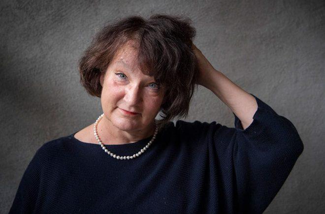 Den finlandssvenska författaren Monika Fagerholm kommer inte till Umeå internationella litteraturfestival, Littfest. Arkivbild: Jessica Gow/TT.