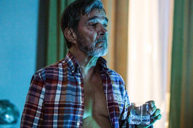Kjell Bergqvist som kriminalkommissarie Bäckström, i tv-serien med samma namn. Foto: Jonath Mathew/TV4/CMore.