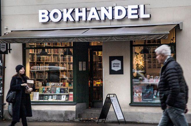 Helena Landstedt/TT Bokhandlareföreningen och Förläggareföreningen efterlyser riktat stöd till bokhandlare, förläggare och författare. Arkivbild.