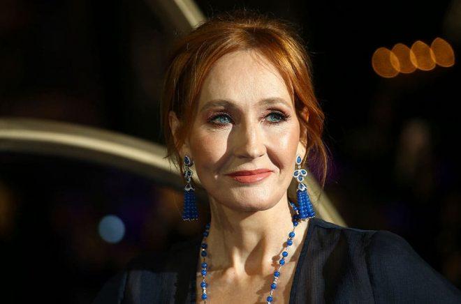 JK Rowling misstänker att hon har drabbats av coronaviruset. Arkivbild: Joel C Ryan/AP/TT.