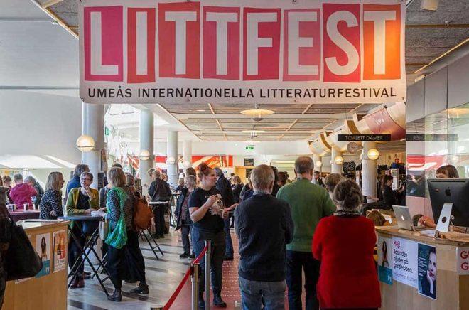 Litteraturfestivalen Littfest i Umeå klarar ekonomin till nästa år. Arkivbild: Henke Olofsson.