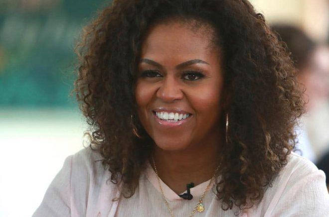 Michelle Obamas bokturné när hon släppte sina memoarer blir en dokumentärfilm. Arkivbild: Hau Dinh/AP/TT.