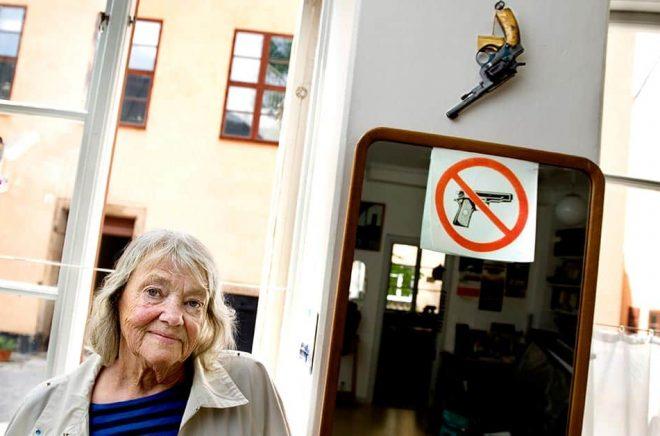Maj Sjöwalls betydelse för deckargenren går inte att överskatta, menar många. Arkivbild: Lars Pehrson/SvD/TT.