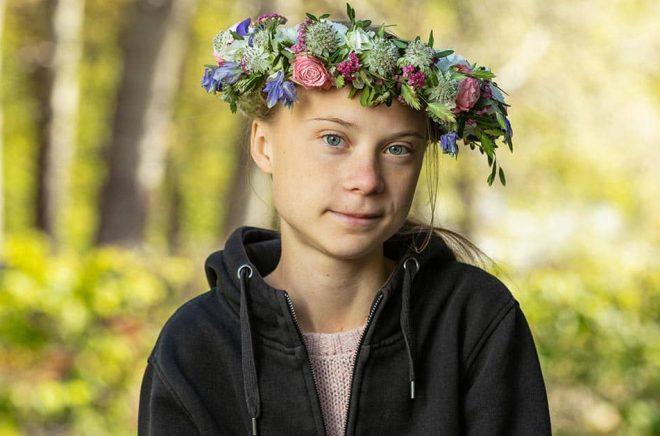 Greta Thunberg är först ut i