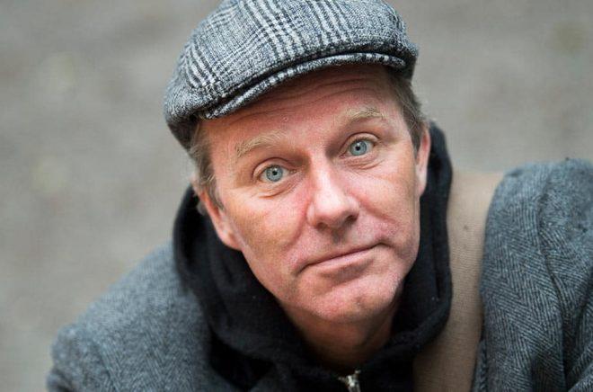 John Ajvide Lindqvist. Arkivbild: Fredrik Sandberg/TT.